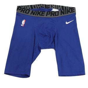 Nike Pro Mens Large Detroit Pistons Spandex Shorts